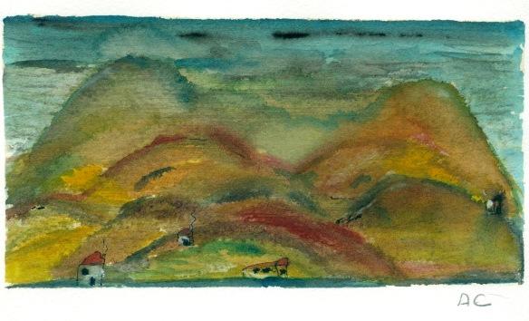 Montanhas Aquarela  2011