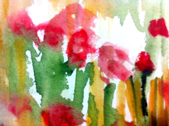 Detalhe, aquarela, 2014