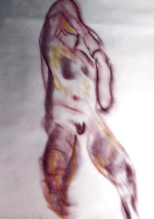 Crayon. 50x60cm - 2016